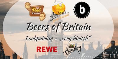 """Beers of Britain - Foodpairing """"very British"""""""
