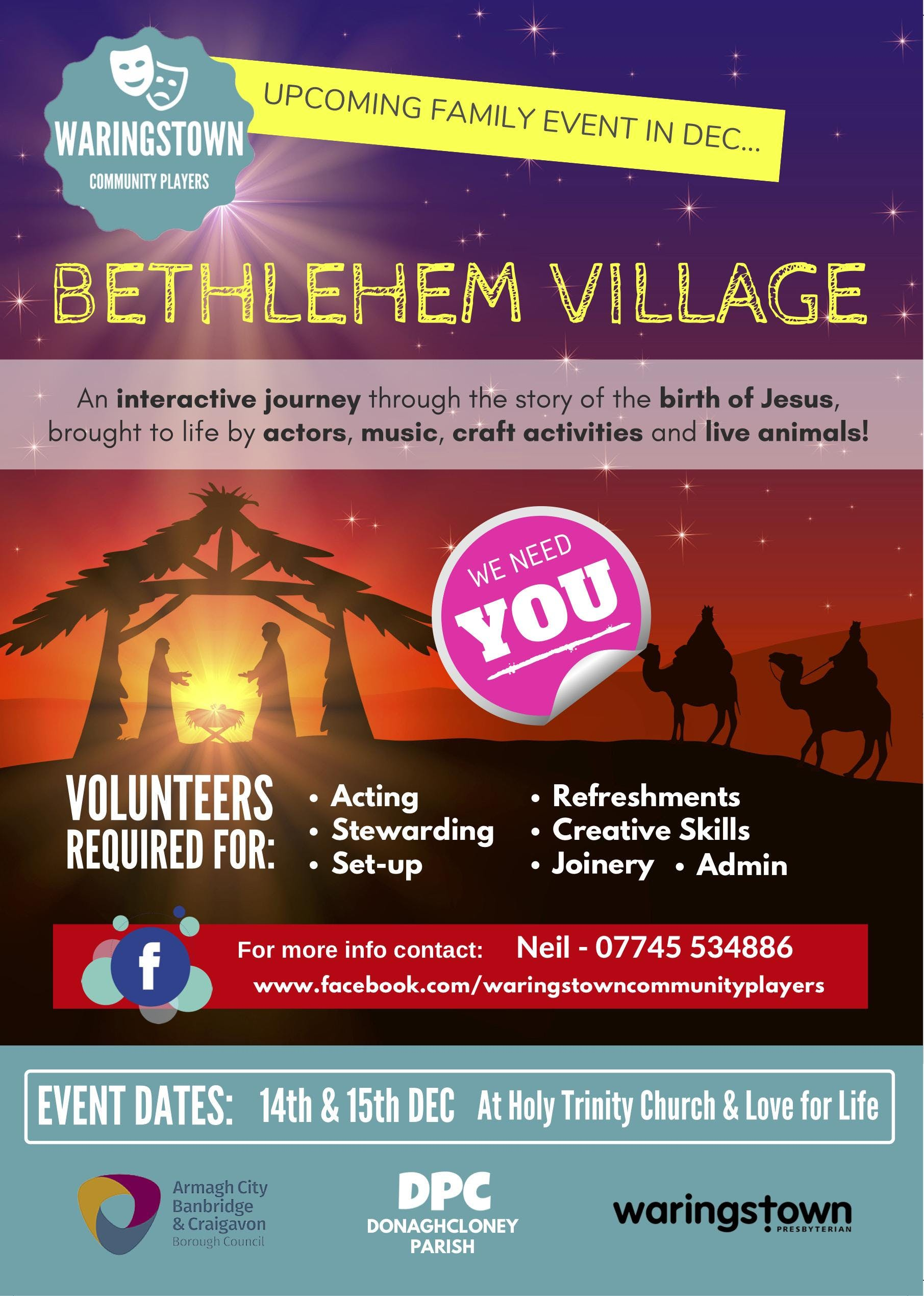 Bethlehem Village in Waringstown