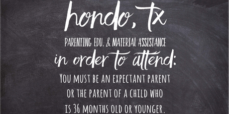 Hondo Parenting Education & Material Assistance tickets