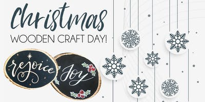 Christmas Wooden Craft Day!