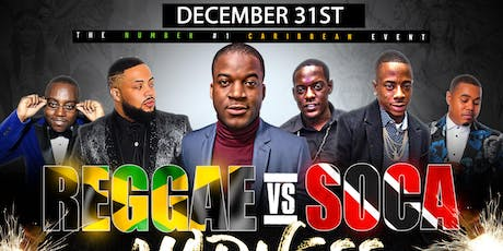 REGGAE VS SOCA VS KOMPA MADNESS FREE TILL 11PM tickets