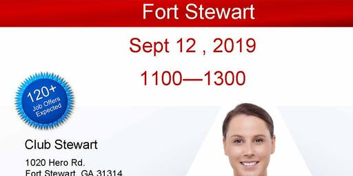 Fort Stewart Veteran Job Fair - Sept 2019
