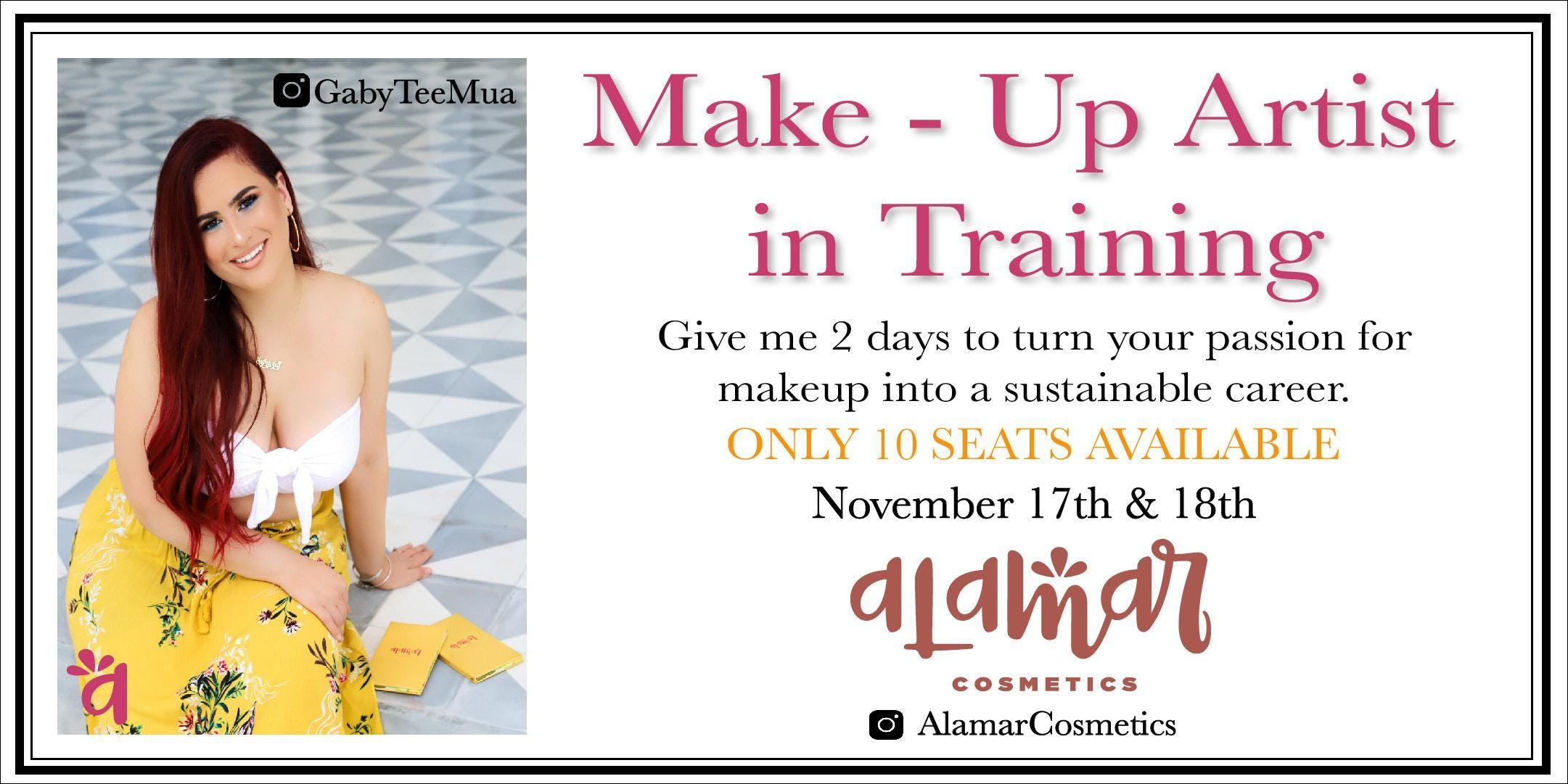Makeup Artist In Training