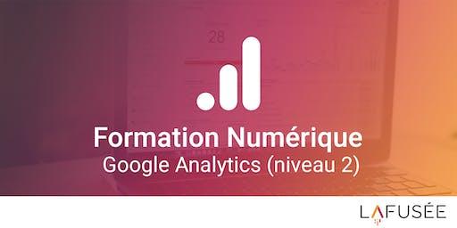 Formation Google Analytics (Niveau 2) - 1 journée