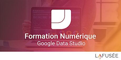 Formation Google Data Studio - 1 journée billets