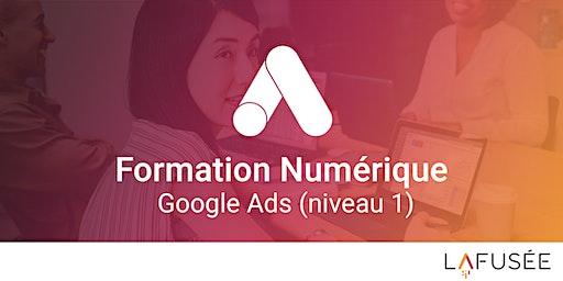 Formation Google Ads / Référencement Payant (Niveau 1) - 1 journée