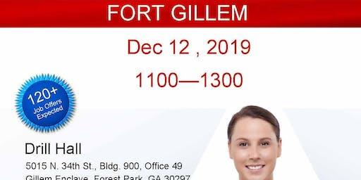 Atlanta Veteran Job Fair (Ft Gillem) - Dec 2019