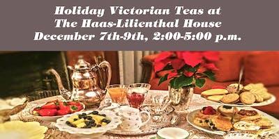 Holiday Victorian Teas 2018