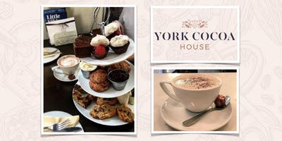 York Cocoa House Afternoon Chocolate May 2019