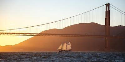 Saturday Sunset Sail on San Francisco Bay - Spring 2019