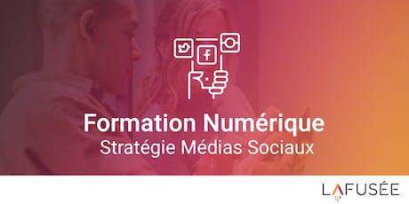 Formation Stratégie Médias Sociaux - 1 journée billets