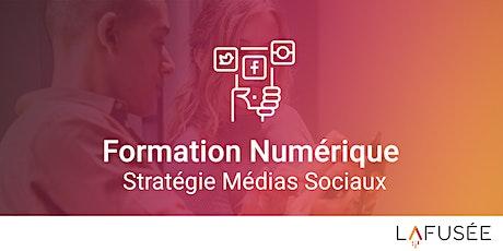 Formation Stratégie Médias Sociaux - Classe Virtuelle tickets