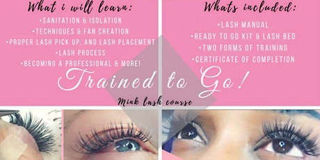 Trained to Go Mink Lash Course by QueriaMonay tickets