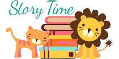 Jr. Story Time Tuesdays @ 10:00