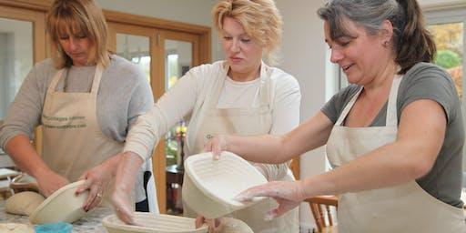 Sourdough/Advanced breadmaking workshop; learn to make Sourdough