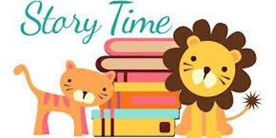 Jr. Story Time Wednesdays @ 10:00