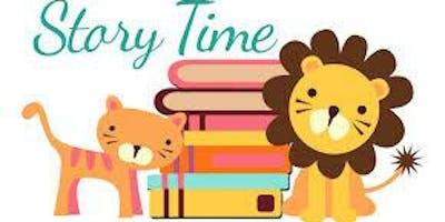 Preschool Story Time Wednesdays @ 11:30 am