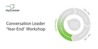 UNSW myCareer 'Year End' – Conversation Leader Workshop