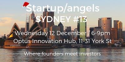 Startup&Angels Sydney #13