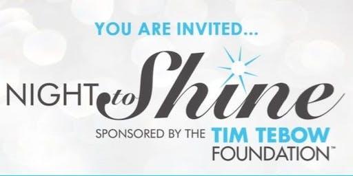 2020 Night to Shine at Union Grove CH Church,Cleveland,GA PARTICIPANT REG.
