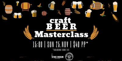 Craft Beer Masterclass