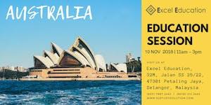 Australia Universities Education Session
