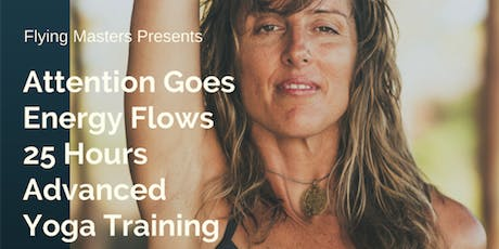 Attention Goes Energy Flows – 25 Hours Advanced Yoga Training with Joan Hyman (USA) tickets