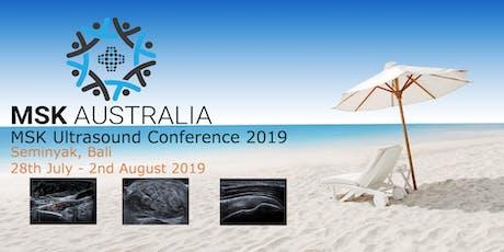 MSK Australia Bali 2019 tickets