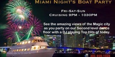 Miami Nights Boat Party / Yacht Party