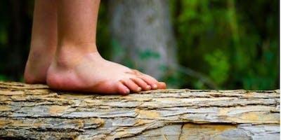 Barefoot, Silent, Unplugged & Free Walk
