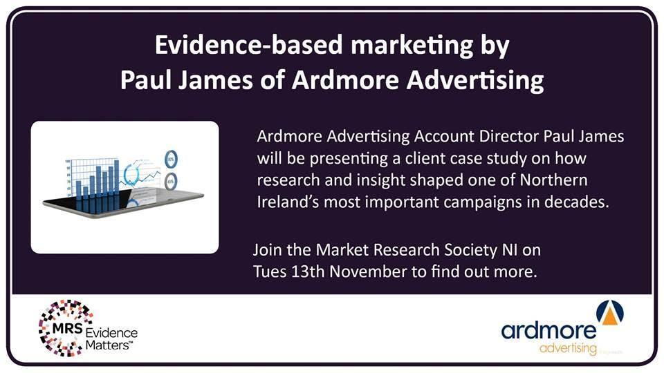 Evidence-based marketing: How research and insight shaped one of Northern Ireland's most important campaigns in decades