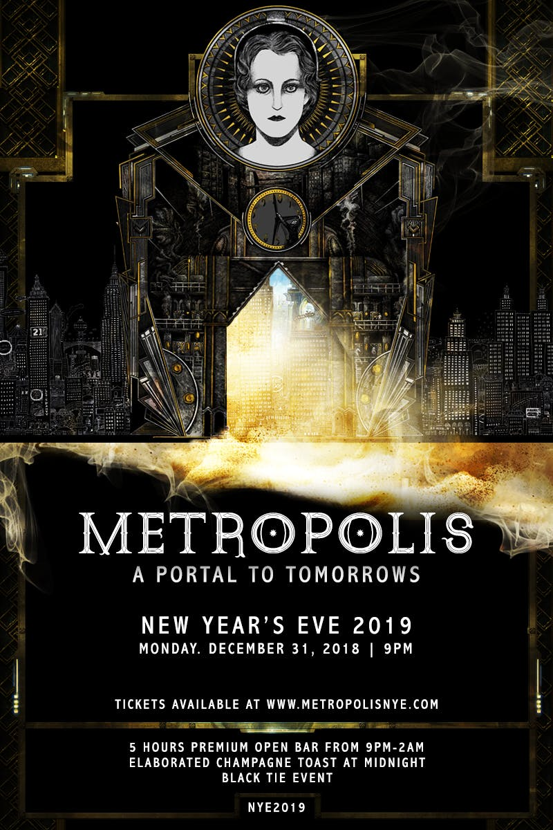 Metropolis - The Portal To Tomorrows | NYE 20