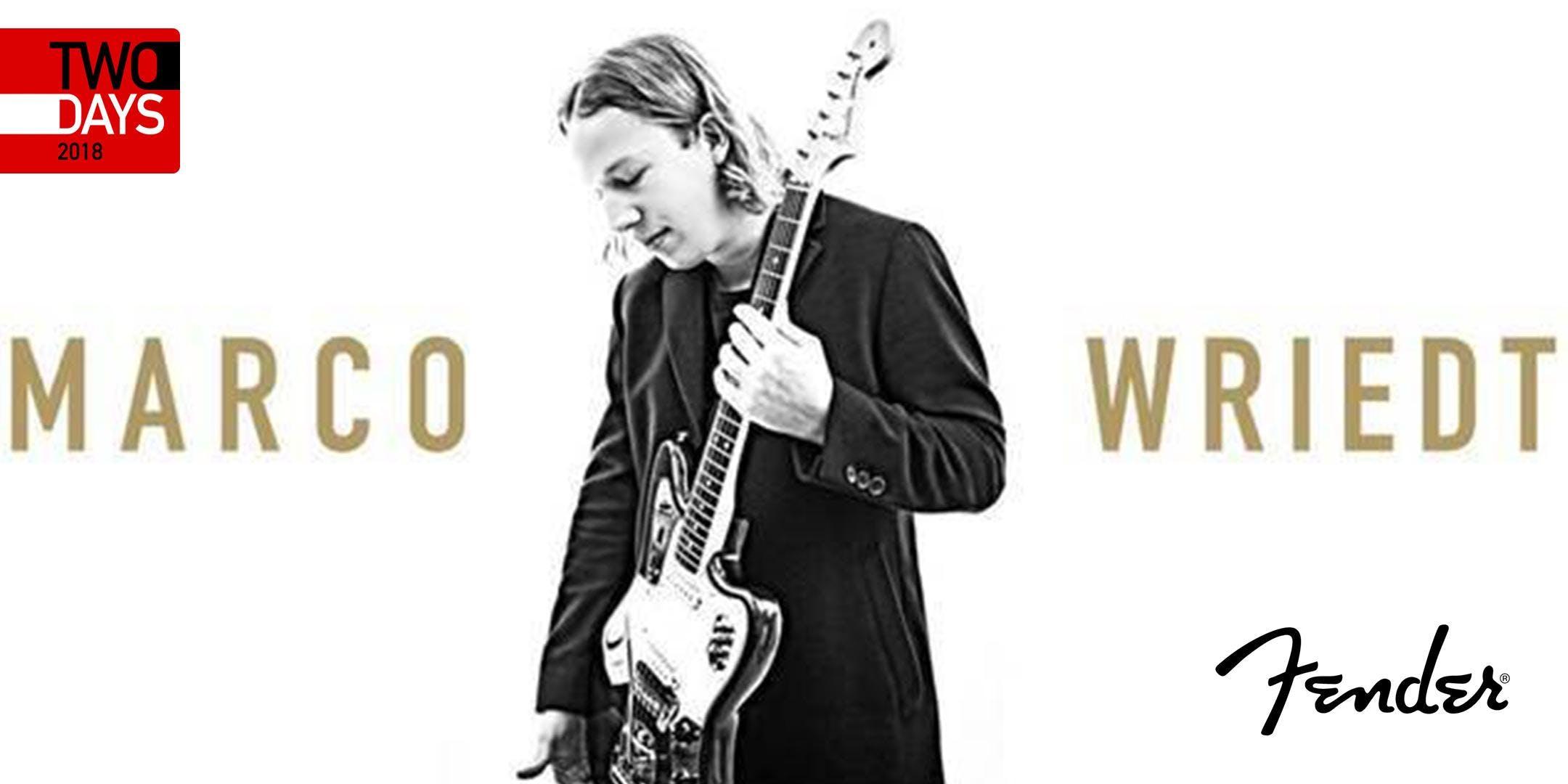 TwoDays 2018: Fender Produktvorführung I Marc
