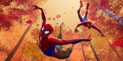 "Comic Time Kino-Action ""Spider-Man: A New Universe\"""
