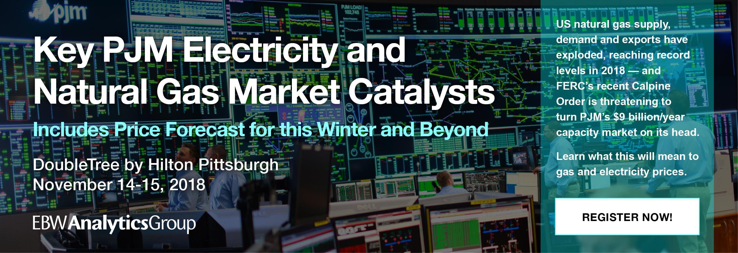 Key PJM Electricity & Gas Market Catalysts |
