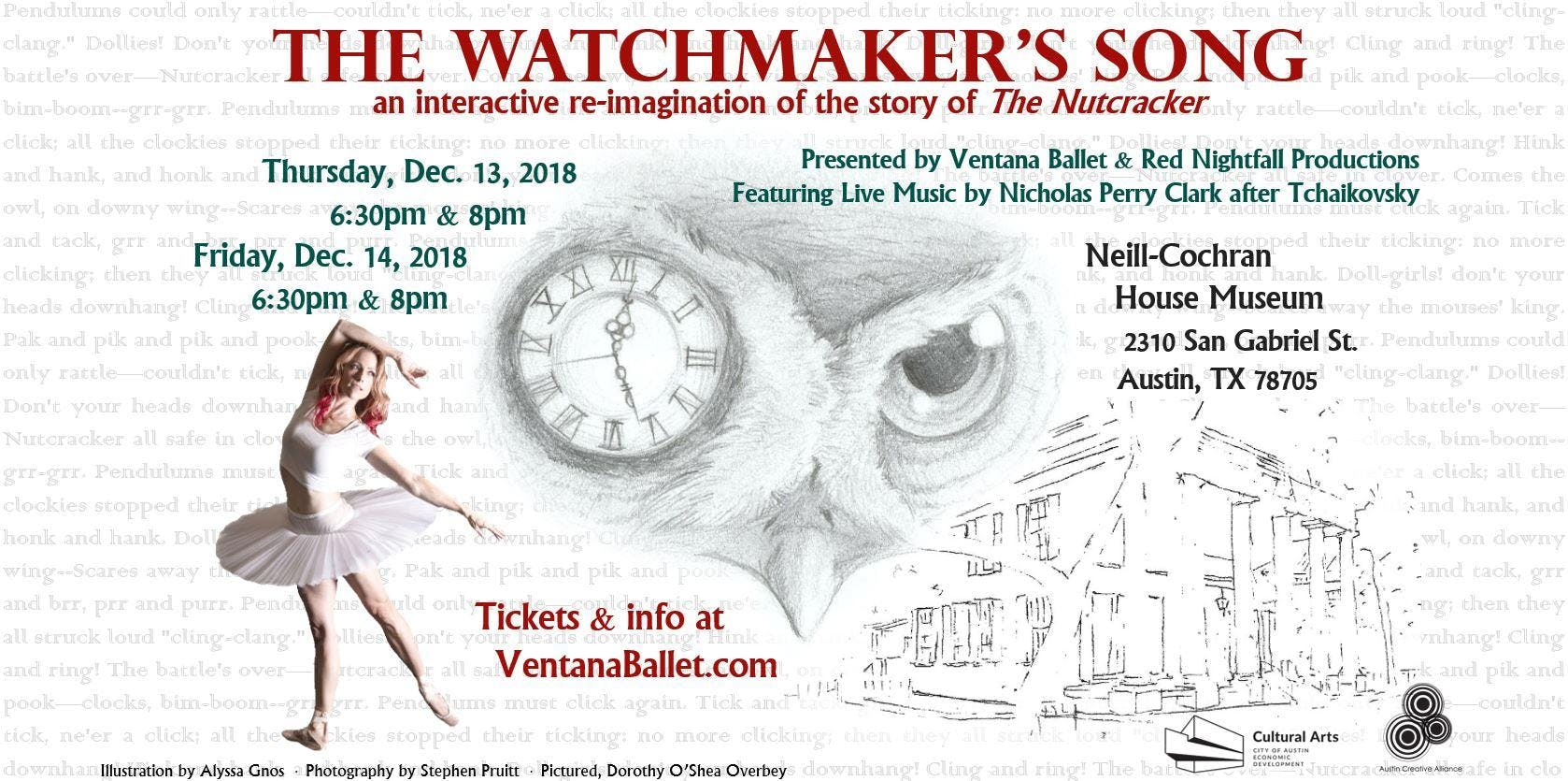 Ventana Ballet Presents: The Watchmaker's Son