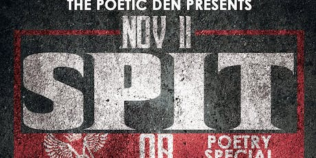 Poetry Special 'SPIT or DIE' tickets