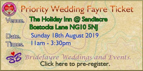 The Holiday Inn at Junction 25 Summer Wedding Fayre tickets