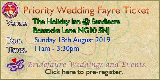 The Holiday Inn at Junction 25 Summer Wedding Fayre