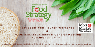 Thunder Bay and Area Food Strategy Fall AGM