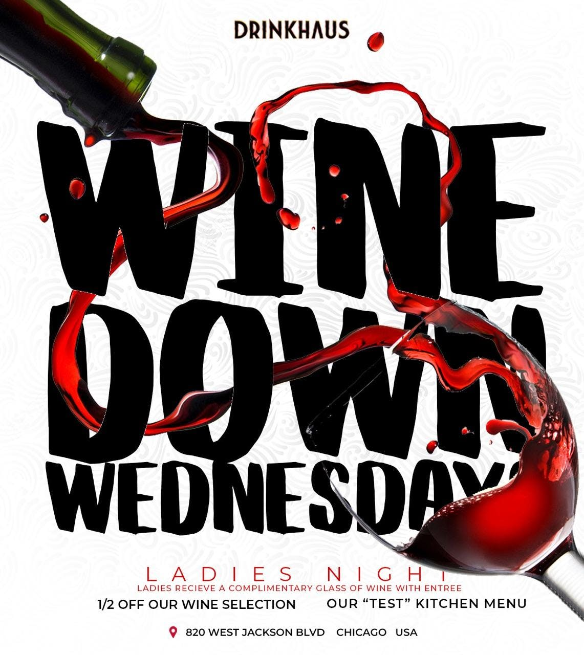Wine Down Wednesdays R&B Ladies Night @DrinkH
