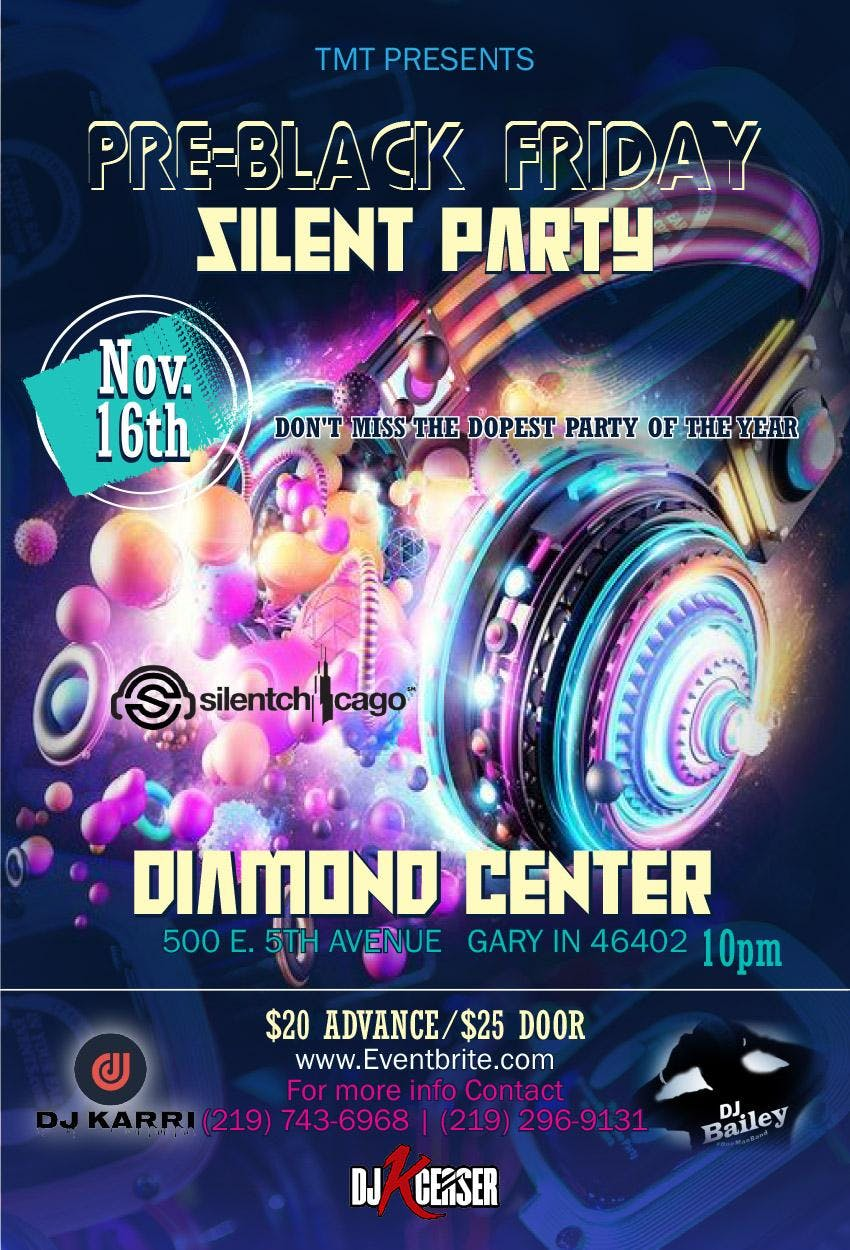 Pre-Black Friday Silent Party