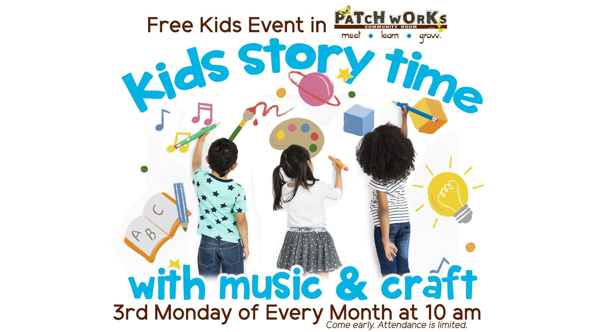 Free Kids Event: Kids Story Time with Music &