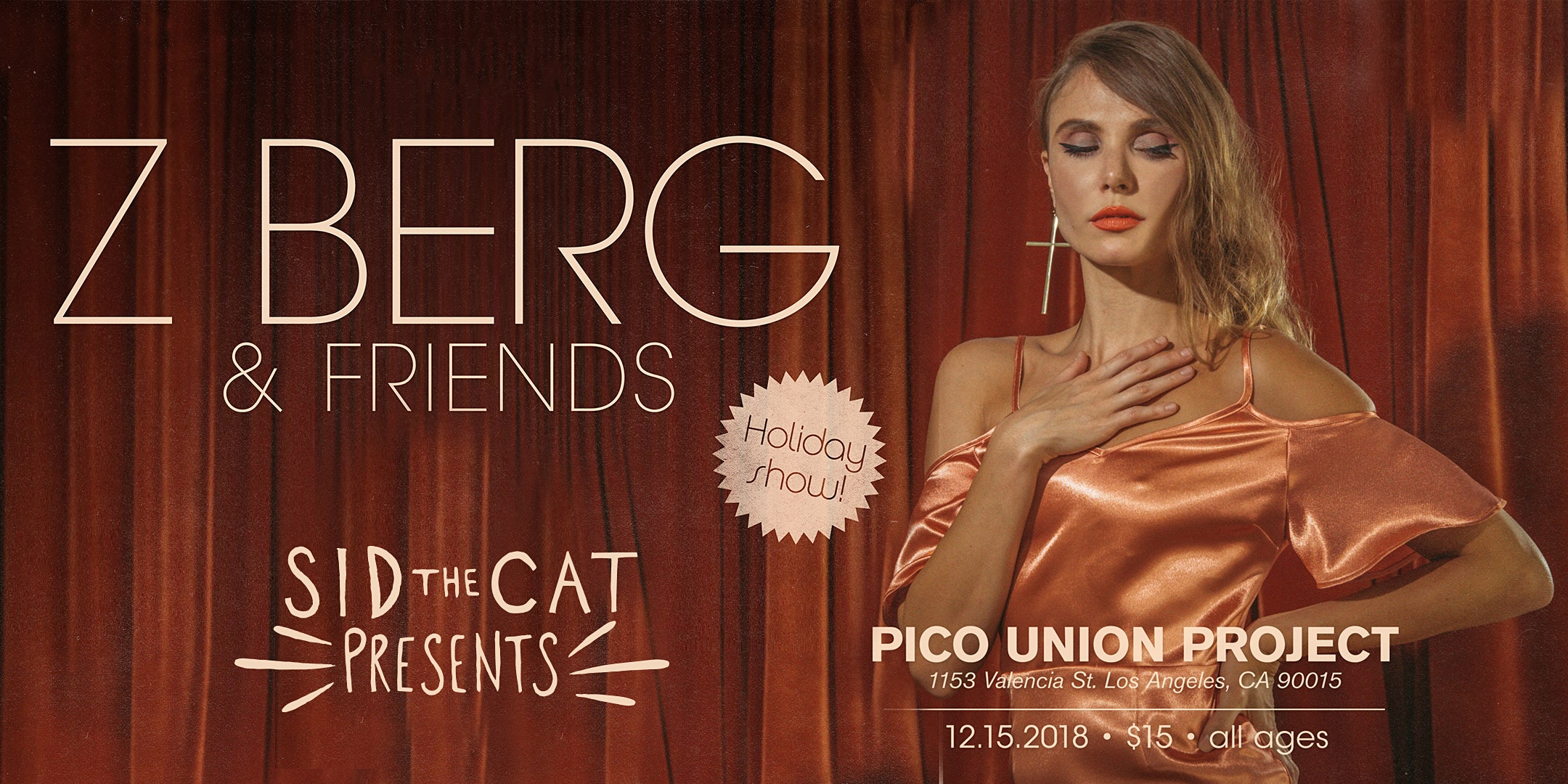 Z Berg & Friends Holiday Show