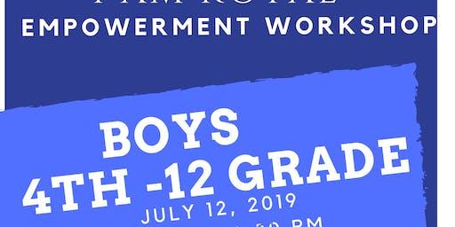 I AM ROYAL BOYS EMPOWERMENT WORKSHOP