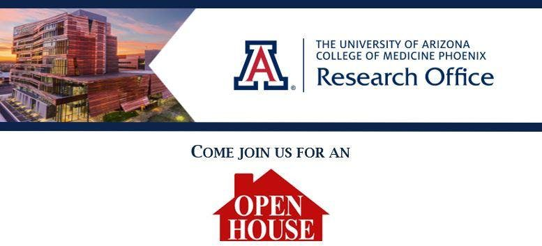 UA COM-P Research Office Open House