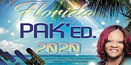 The PAK'ed.™ 20/20 Experience  tickets