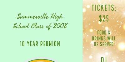 Summerville Highschool Class of 08 10 Year Reunion