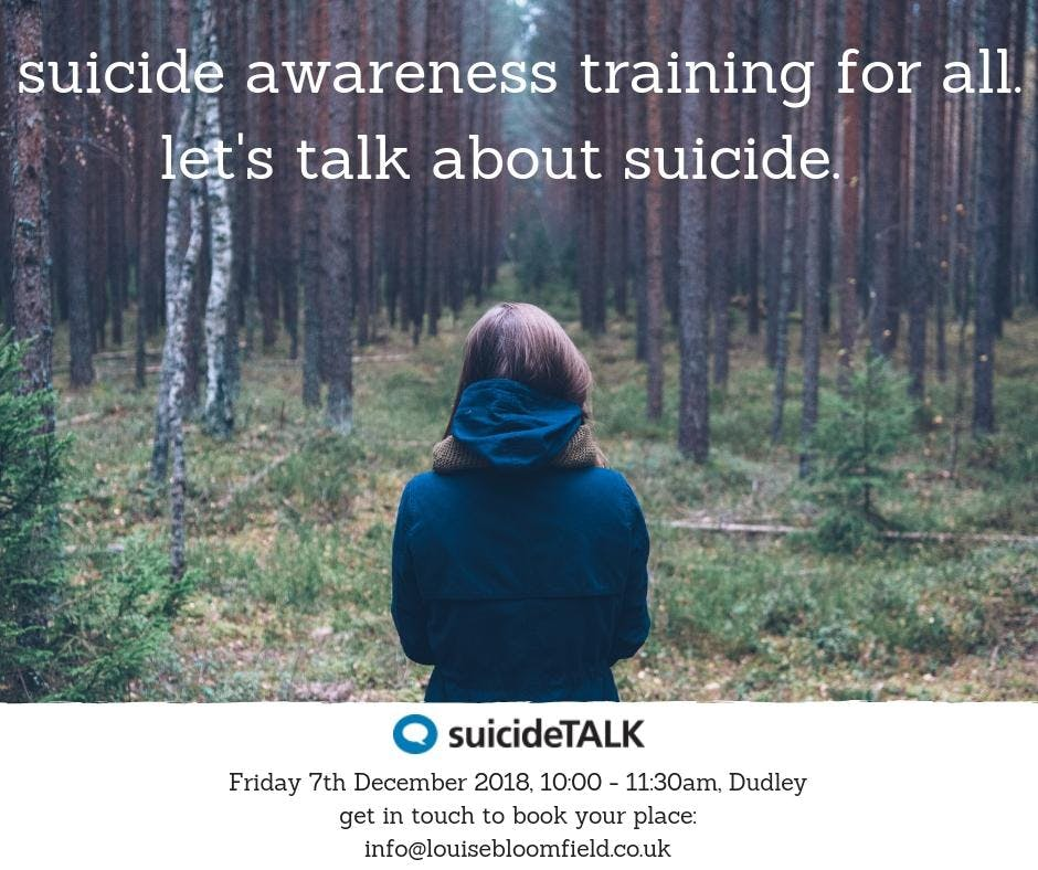 suicideTALK: Suicide Awareness for All