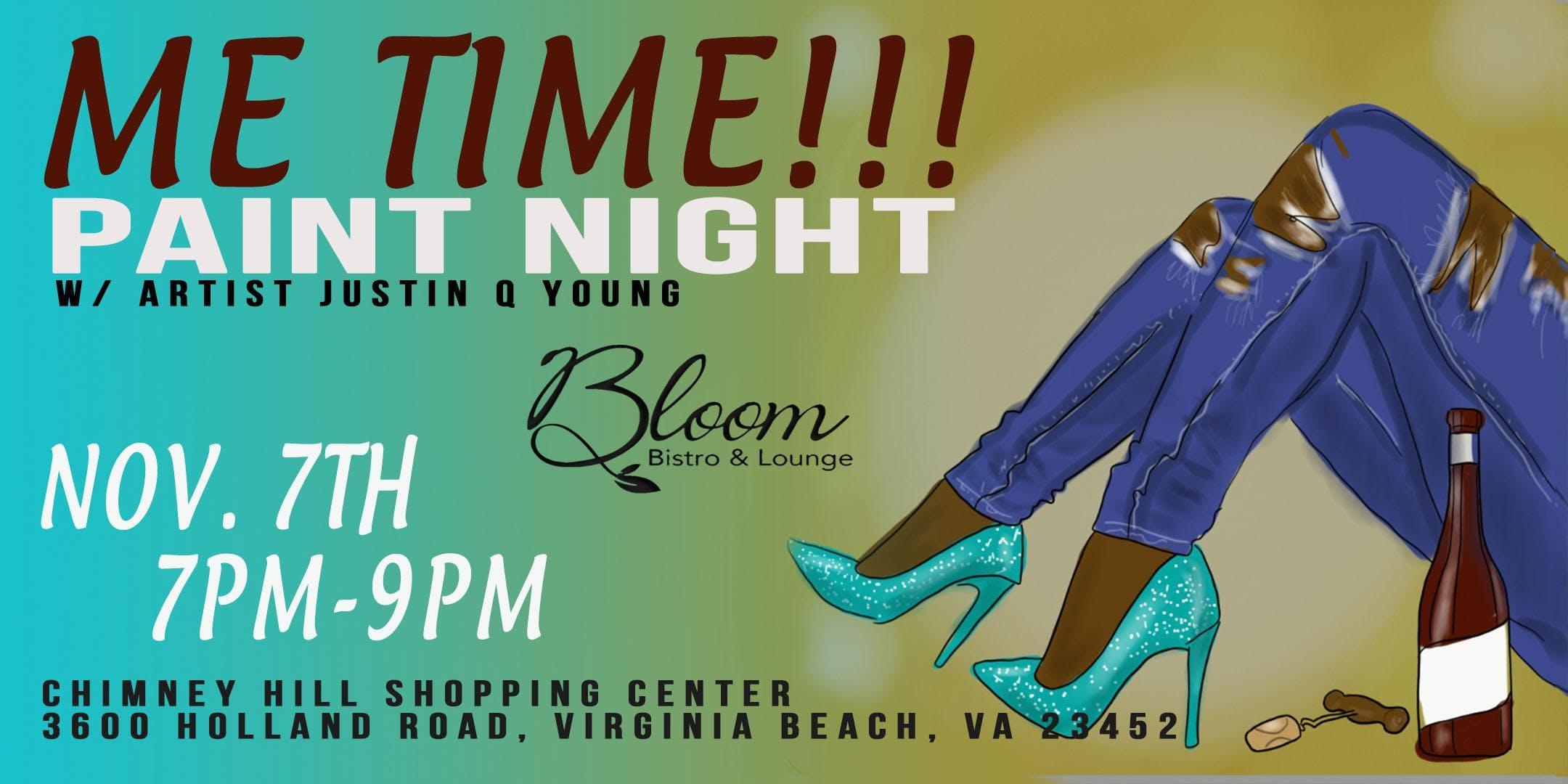 Me Time Paint Night Va Beach